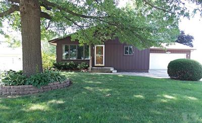 Marshalltown IA Single Family Home Sold: $139,900