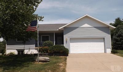 Marshalltown IA Single Family Home For Sale: $199,500
