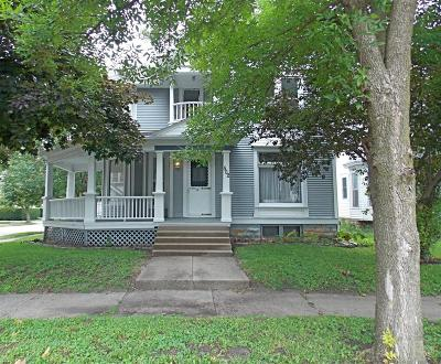 Marshalltown IA Single Family Home Sold: $107,000