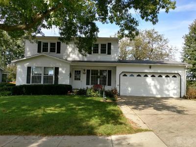 Marshalltown IA Single Family Home For Sale: $165,000