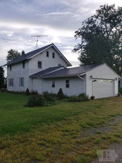 Albion IA Single Family Home Sold: $123,000
