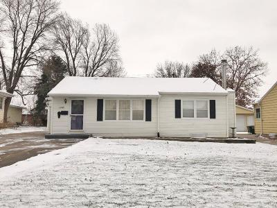 Marshalltown Single Family Home For Sale: 1705 Elder Dr