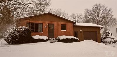 Marshalltown IA Single Family Home For Sale: $137,900