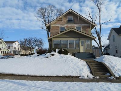 Marshalltown IA Single Family Home For Sale: $59,900