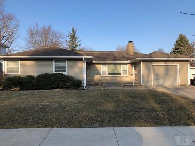 Grinnell Single Family Home For Sale: 1527 West Street