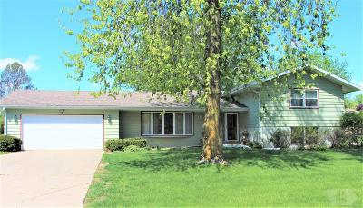 Grinnell Single Family Home For Sale: 1717 Prairie Street