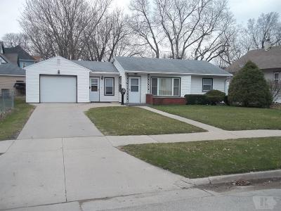 Marshalltown IA Single Family Home For Sale: $78,500