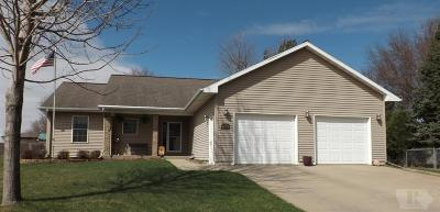 Marshalltown IA Single Family Home For Sale: $244,900