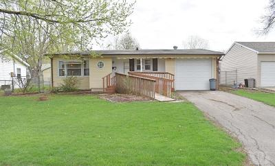 Marshalltown IA Single Family Home For Sale: $53,900