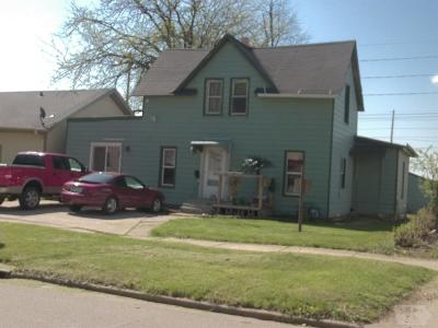 Marshalltown IA Single Family Home For Sale: $54,900