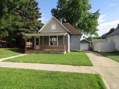 Marshalltown IA Single Family Home For Sale: $55,900