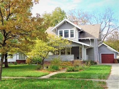 Grinnell Single Family Home For Sale: 929 Elm Street