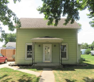 Single Family Home For Sale: 124 S Mill Street