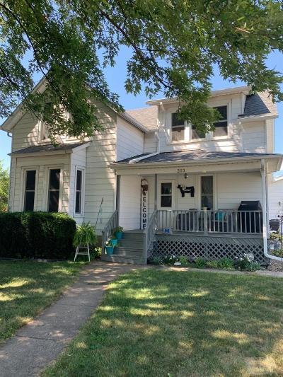 Single Family Home For Sale: 203 E Jefferson Street
