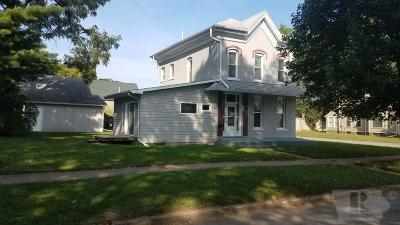 Marshalltown IA Single Family Home For Sale: $119,900