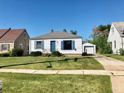 Marshalltown IA Single Family Home For Sale: $72,500
