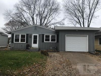 Mason City Single Family Home For Sale: 1720 S Hampshire Avenue