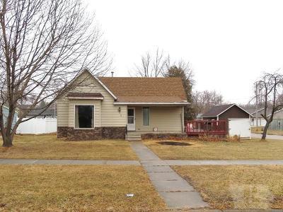 Nora Springs Single Family Home For Sale: 216 1st Street SE