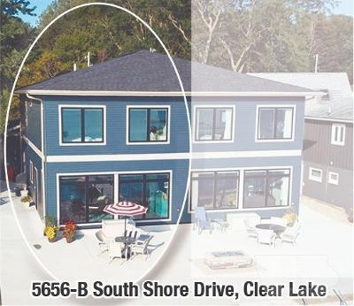 Clear Lake Single Family Home For Sale: 5656 South Shore Drive