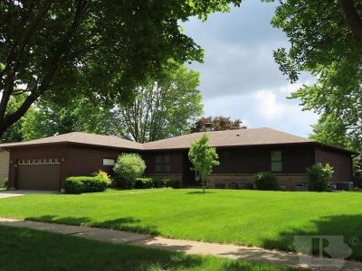 Mason City Single Family Home For Sale: 1065 Briarstone Drive