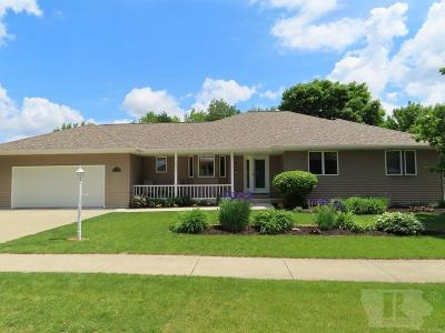 Mason City Single Family Home For Sale: 435 Prairie View Lane