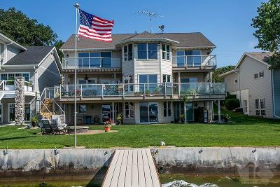 Clear Lake Single Family Home For Sale: 3609 N Shore Drive