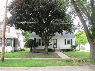 Mason City Single Family Home For Sale: 1528 N President Avenue