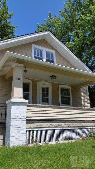 Jefferson County Single Family Home For Sale: 603 E Adams Street