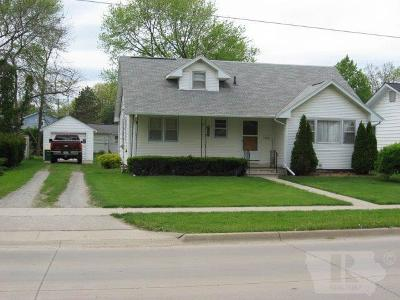 Fairfield IA Single Family Home Sold: $116,000