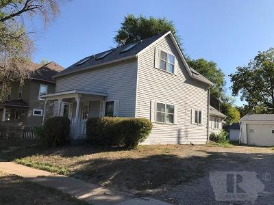 Fairfield IA Single Family Home Sold: $80,500