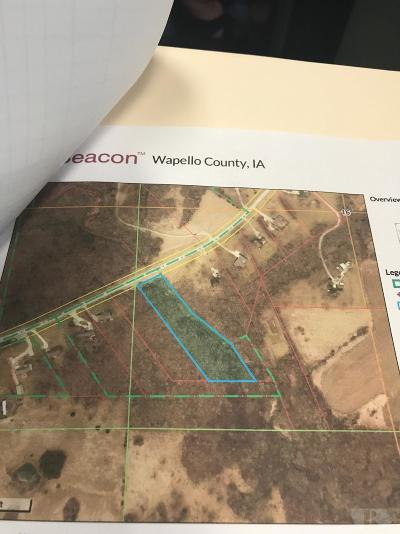 Wapello County Residential Lots & Land For Sale: Bladensburg Rd
