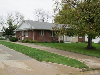 Mount Pleasant Single Family Home For Sale: 609 S Locust