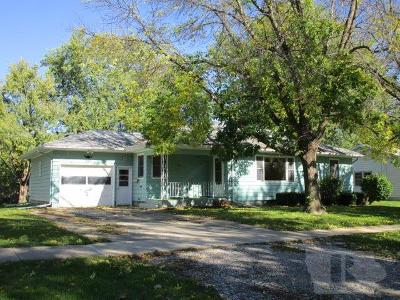 Fairfield IA Single Family Home For Sale: $119,900