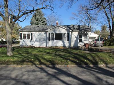 Mount Pleasant Single Family Home For Sale: 601 E Madison