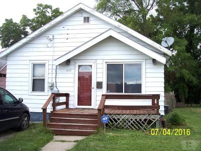 Wapello County Single Family Home For Sale: 537 Ottumwa St.
