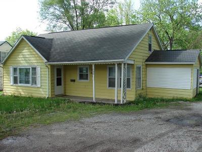 Mount Pleasant Single Family Home For Sale: 609 W Washington
