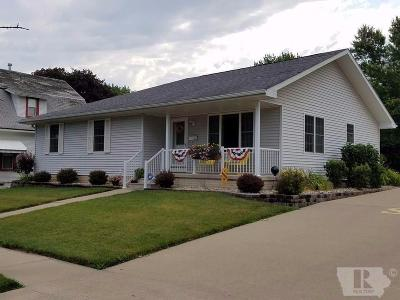 Keokuk County Single Family Home For Sale: 409 S Main Street