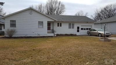 Fairfield IA Single Family Home For Sale: $138,500