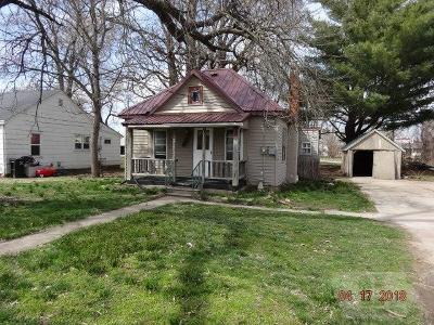 Wapello County Single Family Home For Sale: 1223 Hammond
