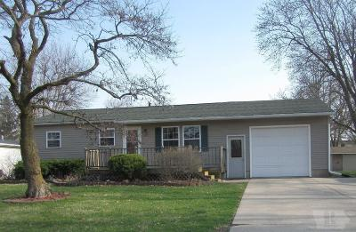 Fairfield IA Single Family Home For Sale: $129,500