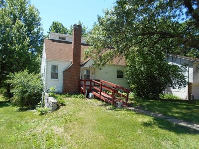Ottumwa IA Single Family Home For Sale: $52,000