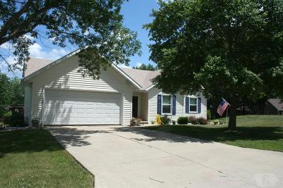 Centerville IA Single Family Home For Sale: $185,000