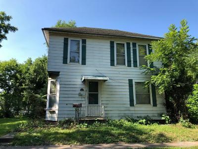 Fairfield IA Single Family Home For Sale: $55,000