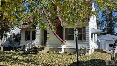 Wapello County Single Family Home For Sale: 122 S Milner