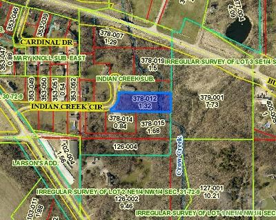 Residential Lots & Land For Sale: 1606 Indian Creek Circle