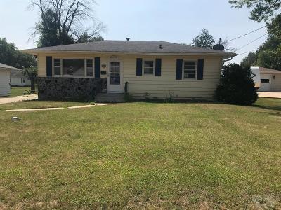 Wapello County Single Family Home For Sale: 1222 Hamilton
