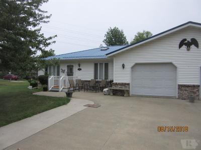 Fairfield IA Single Family Home For Sale: $119,500