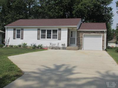 Mount Pleasant Single Family Home For Sale: 605 E Webster Street