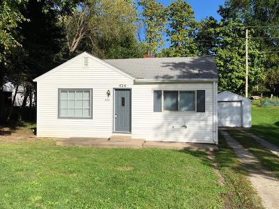 Ottumwa Single Family Home For Sale: 424 Tacoma Avenue