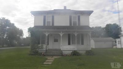 Cincinnati IA Single Family Home For Sale: $39,000